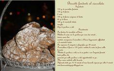 biscotti golosi al cioccolato fondente  ricette  italian recipe