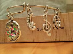 Items similar to Tree of Life - Charms Bracelet Adjustable Wire Bangle on Etsy Etsy Jewelry, Unique Jewelry, Bangles, Bracelets, Charms, My Etsy Shop, Wire, Handmade Gifts, Vintage