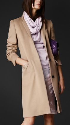 Tailored Cashmere Chesterfield | Burberry