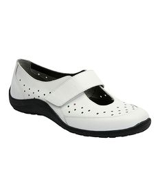 White Nevaeh Leather Shoe