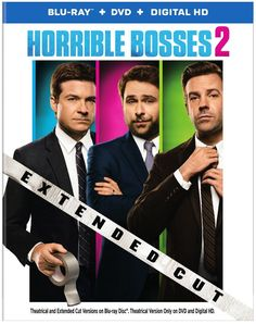 The Blu-ray Combo Pack of Horrible Bosses 2 include an extended cut of the film featuring footage not seen in theaters.