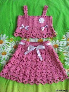 42 Adorable Crochet Baby Dress Patterns Images for 2019 - Page 25 of 67 Newborn Crochet Patterns, Crochet Baby Dress Pattern, Baby Dress Patterns, Crochet Baby Clothes, Knit Crochet, Knitting Patterns, Crochet Toddler, Crochet For Kids, Crochet Skirts
