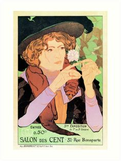 Salon des cent Art nouveau expo Paris 1894 by aapshop