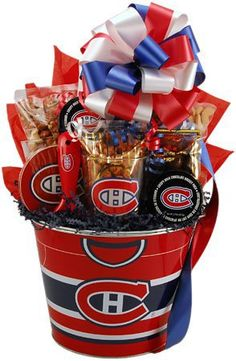 Go Patriots, Red Sox, Celtics, Bruins! Holiday Gift Baskets, Holiday Gifts, Christmas Gifts, Theme Baskets, Themed Gift Baskets, Boyfriend Gift Basket, Boyfriend Gifts, Montreal Canadiens, Gifts For Girls
