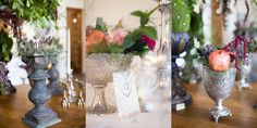 I assisted Jenni Elizabeth at this beautiful winter Nooitgedacht wedding. Winter Wedding Decorations, Table Decorations, Glass Vase, Projects, Beautiful, Home Decor, Log Projects, Blue Prints, Decoration Home