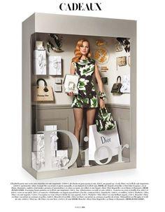 As caixas de Barbie na Vogue francesa