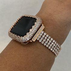 Cute Jewelry, Jewelry Accessories, Bling Jewelry, Custom Apple Watch Bands, Rose Gold Apple Watch, Macbook, Apple Watch Accessories, Lab Diamonds, Perfume