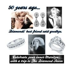 """Remembering Marilyn"" by the-diamond-room on Polyvore"