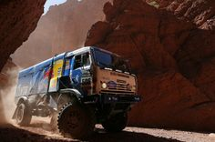 Galerie photos : Dakar Rallye 2014 Chile Argentina - Kamaz Truck - Works