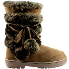 Womens Pom Pom Fully Fur Lined Waterproof Winter Snow Boots - Brown - 5 Snow Boot http://www.amazon.com/dp/B0092OQUN6/ref=cm_sw_r_pi_dp_mo4zub1W7R5CR