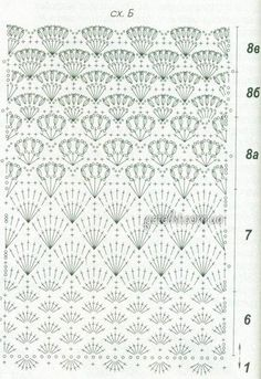 Fabulous Crochet a Little Black Crochet Dress Ideas. Georgeous Crochet a Little Black Crochet Dress Ideas. Crochet Stitches Chart, Crochet Motifs, Crochet Borders, Crochet Lace, Granny Square Häkelanleitung, Granny Square Crochet Pattern, Crochet Diagram, Stitch Patterns, Knitting Patterns