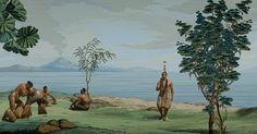 Still uit In Pursuit of Venus van Lisa Reihana voor Suspended Histories in Museum van Loon
