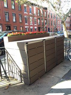 1000 Images About Trash Enclosures On Pinterest