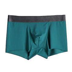 0f4ea4cd4016 Men's Underwear Breathable Solid Boxer Trunk Cotton Comfortable Boxer  Briefs #fashion #clothing #shoes