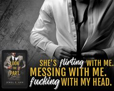 Look the Part by Jewel E Ann #mustread #bookstoread #romancereads #contemporaryromance #indieauthors