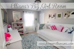 I LOVE THIS ROOM!    From Mrs. to Mama: Big Girl Room Reveal