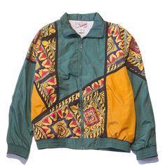 Royale Jacket Medium Perennial Merchants (€28) ❤ liked on Polyvore featuring outerwear, jackets, coats, nylon jacket, mint green jacket and mint jacket