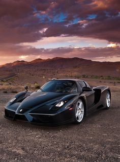 black Ferrari ENZO more news read here: http://residentiallease.net  #RePin by AT Social Media Marketing - Pinterest Marketing Specialists ATSocialMedia.co.uk