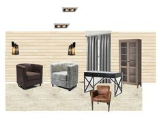 """кабинет"" by margarita-shoshina on Polyvore featuring interior, interiors, interior design, дом, home decor и interior decorating"