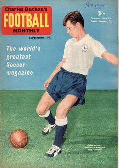 Charles Buchan's Football Monthly from September 1962. John White of Spurs ...
