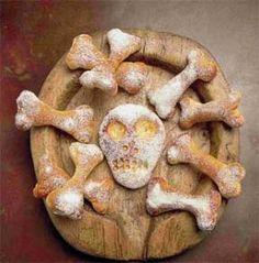 Spooky halloween bread