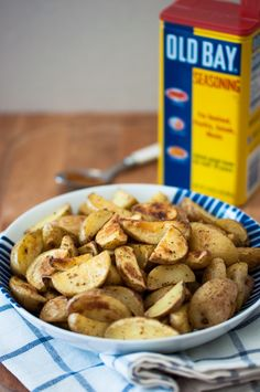 Crispy Roasted Potatoes with Old Bay Seasoning Recipe by Cook Smarts