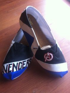 Avengers Toms. NEED THESE!!!!!!!!!!!!
