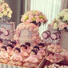 .@andreaalves123 | #decor #baby #cake @blogdamariah