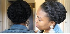 "naturalhairstyleson: ""6 Styles for Long or Short 4B/4C Natural Hair — 2015 Edition http://ift.tt/1ebtTs5 """