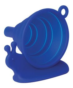 Take a look at this Blue Snail Collapsible Funnel by DCI on #zulily today!
