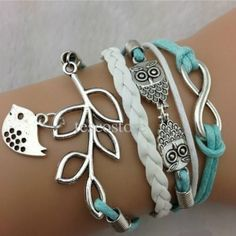 Baby Blue Charm Bracelet from Southern Charm   Square Market