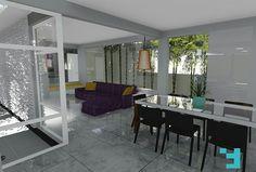 Projeto Arquitetônico de Reforma - Casa V+N. Aparecida de Goiânia - GO. #issoéFORS #Fors #Ideias #Arquitetura