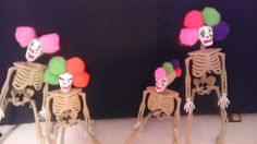 Neon trimmed skellies for a pop of color at the black light bar.