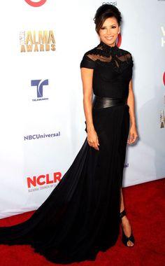 Eva Longoria looks beautiful at the #ALMA Awards