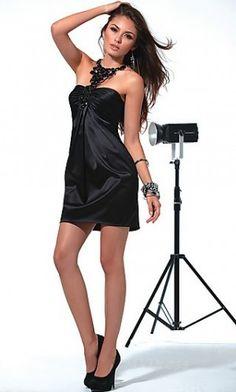 homecoming dress # black