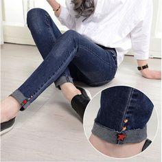 Women's jeans #taobaofocus #taobao #tmall #pattern #womens #jeans #denim #skinny