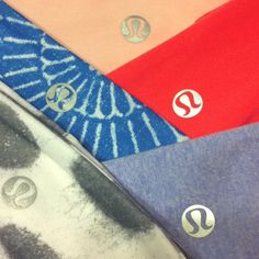 Lululemon headbands... these are a few of my favorite things!