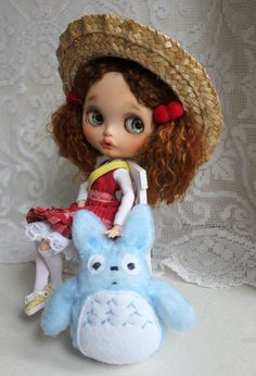 Mei OOAK Custom Blythe Doll by Meadowdoll by meadowdolls on Etsy