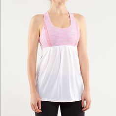 Lululemon Tank Racetrack Tank. Inside tags have been removed. Only worn a few times. lululemon athletica Tops Tank Tops