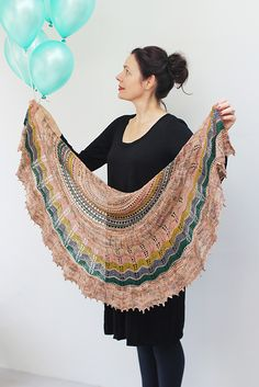 Ravelry: Surprise Party Shawl pattern by Helen Stewart