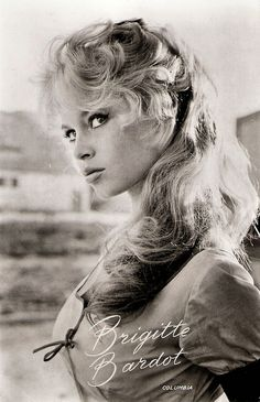 Picture of Brigitte Bardot Bridgitte Bardot, Hollywood Glamour, Classic Hollywood, Old Hollywood, Catherine Deneuve, Marlene Dietrich, Paris, Cherbourg, Female Actresses