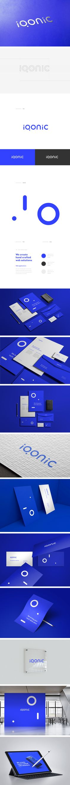 "Check out this @Behance project: ""Iqonic - Logo / Identity"" https://www.behance.net/gallery/56765407/Iqonic-Logo-Identity"