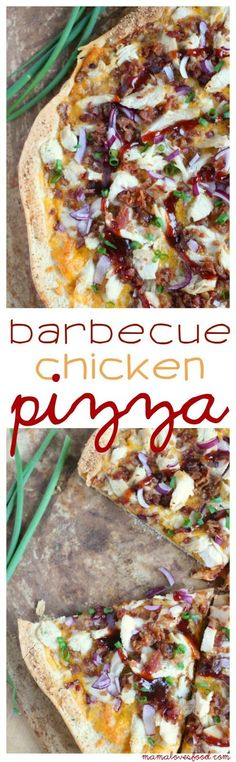 Barbecue Bacon Chicken Pizza - easy 30 minute recipe that beats the restaurants every time!