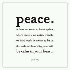 Sometimes easier said...