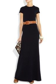 Long black maxi--I want to buy this so bad!  I'm so upset there is no link associated...