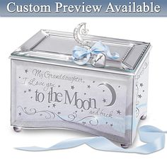 Granddaughter Jewelry Box Prepossessing Gift Music Boxes For Granddaughters  Music Box My Granddaughter I