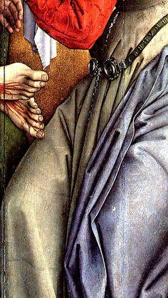 "Detail from Rogier van der Weyden's ""The Deposition"""