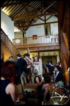 Wedding guests at the reception - Dunadry Hotel - documentary wedding photographs by Dylan McBurney