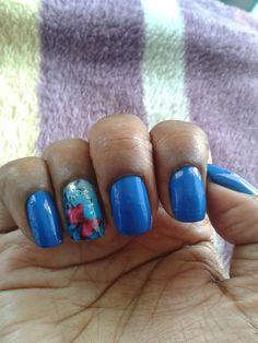 #unhas #azul