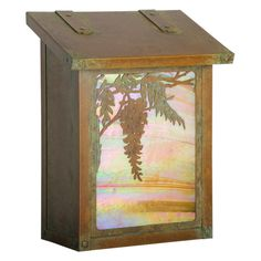 Americas Finest Lighting Wisteria Vertical Mailbox - AF-391-NV-GI